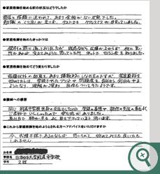 日本女子大学附属中学校 S.Kさん(お母さまより)